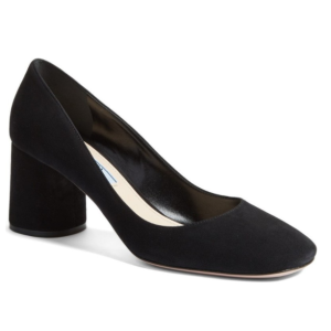 Prada Block Heel Pump (Women)