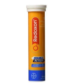 $4.59Redoxon 双重功效含锌  维生素C泡腾片 15粒装