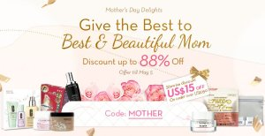 Up To 88% OffMonther's Day Delights @ Sasa.com