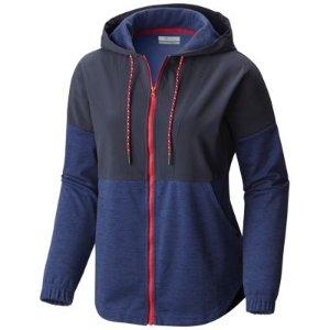 Columbia | Women's Lost Lager Drop Shoulder Overlay Zip Up Hoodie Sweatshirt