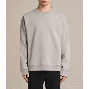 ALLSAINTS US: Mens Hibern Crew Sweatshirt (Putty Brown)
