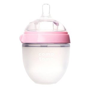Comotomo Baby Bottle Pink | Walgreens