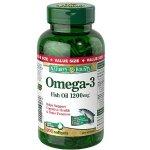 Nature's Bounty Omega-3 鱼油 1200mg 200颗