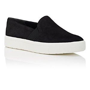 Vince. Berlin Suede Slip-On Sneakers | Barneys Warehouse