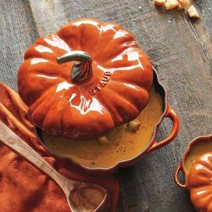 Staub Pumpkin Cocotte, 3.5 qt.