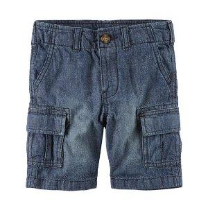 Denim Cargo Shorts | Carters.com