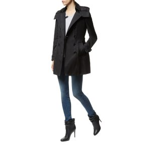Burberry Reymoore Hooded Trench Coat