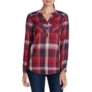 Women's Tree Line Double-cloth Tunic Shirt | Eddie Bauer