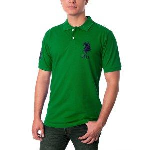 Pique Mesh Big Logo Polo Shirt - U.S. Polo Assn.