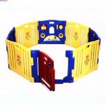 Costway Baby Playpen Kids 8 Panel Safety Play Center Sale @Jet.com