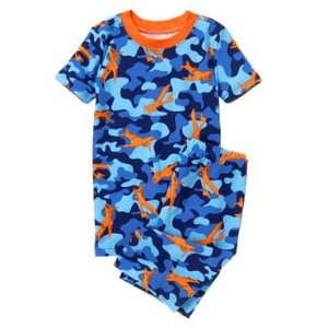 Sky Camo Shortie 2-Piece Gymmies