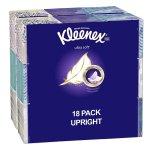 Kleenex Ultra Soft Facial Tissue Cube (18 boxes, 75 tissues per box)