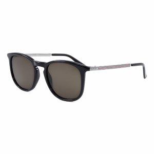 Gucci Black Ruthenium Square Sunglasses | zulily