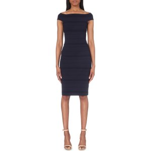 TED BAKER - Inan off-the-shoulder jersey dress