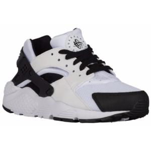 Nike Huarache Run - Boys' Grade School - Running - Shoes - White/Black/White