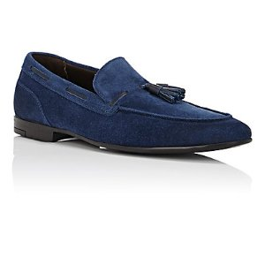 Bruno Magli Lois Suede Loafers | Barneys Warehouse