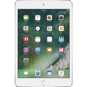 Apple - iPad mini 4 Wi-Fi 128GB - Silver