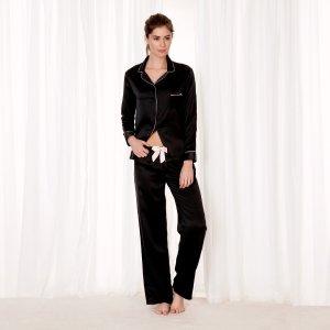 Claudia Shirt and Trouser Black