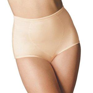 Bali Tummy Panel Medium Control Brief 2-Pack Panty Shapewear X710 at BareNecessities.com