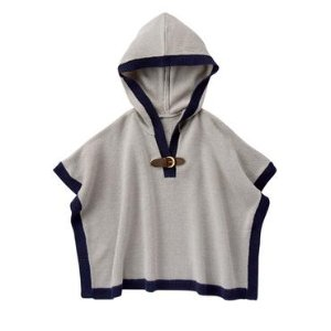Hooded Sweater Cape