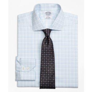 Non-Iron Regent Fit Sidewheeler Check Dress Shirt - Brooks Brothers