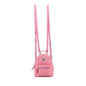Special Stark Embellished Mini Backpack, Pink