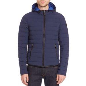 Soild Puffer Jacket