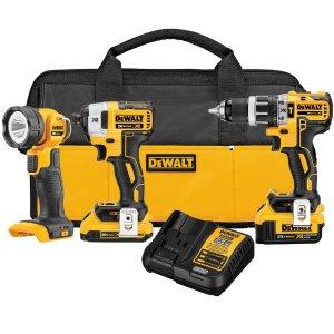 $279黒五价:DEWALT 20-Volt 电动工具套装