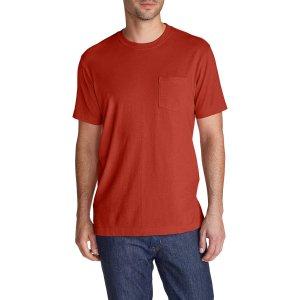 Men's Legend Wash Short-sleeve Pocket T-shirt - Classic Fit   Eddie Bauer