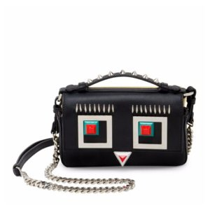 Fendi - Double Micro Pierced Leather Baguette - saks.com