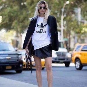 低至5折 Superstar和EQT任你选adidas女款T恤,卫衣,鞋履等夏季促销