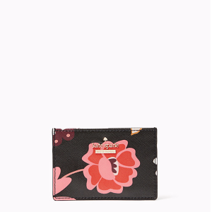 cameron street casa flora card holder
