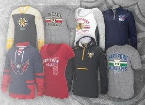 50% OffSelect NHL Hoodies,Sweatshirts,Apparels @ Reebok