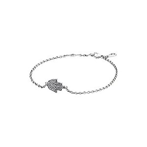 PANDORA Silver CZ Hamsa Bracelet