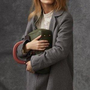 6折起 入廓形大衣Burberry  女士服饰热卖