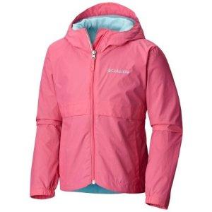 Girl's Rain-Zilla Rain-Zilla Water-Resistant Rain Jacket | Columbia