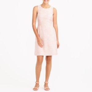 Shimmer boucl� dress : Dresses | J.Crew Factory