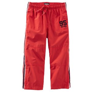 Kid Boy Jersey-Lined Heritage Active Pants | OshKosh.com