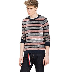 STRIPED COTTON SWEATER | Tommy Hilfiger
