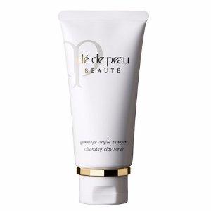Cle de Peau Beauté cleansing clay scrub | Cledepeaubeaute.com