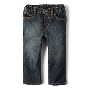 Toddler Boys Straight Jeans - Dust Bowl Wash | The Children's Place
