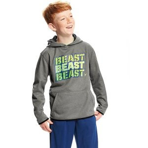 Go-Dry Relaxed Graphic Hoodie for Boys