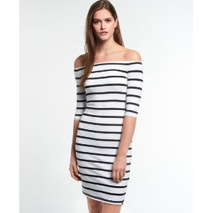 Superdry Bardot Bodycon Dress - Women's Dresses