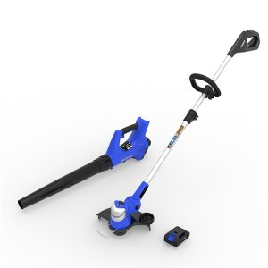 Kobalt 1300103 24伏草坪修边机和吹叶机套装