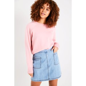 KEISBY RAGLAN SLEEVE SWEATER