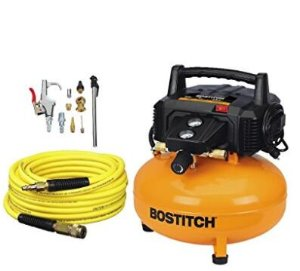 Today Only: $99BOSTITCH BTFP02012-WPK 6-Gallon 150 PSI Oil-Free Compressor Kit
