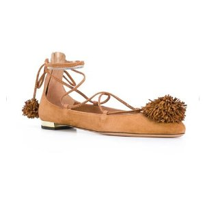 Aquazzura 'Sunshine' Ballerinas - Farfetch