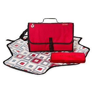 SKIP*HOP® Pronto Mini Changer in Red - buybuy BABY