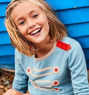 Even Better! Up To 50% Off + Extra 20% OffKids Apparel Sale @ Boden