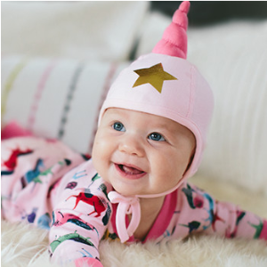 Baby Who Will You Be Cap In Organic Cotton from Hanna Andersson